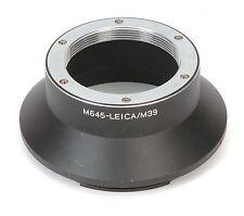 New Leica Leitz Visoflex M39 Lens For Mamiya 645 Body Adapter