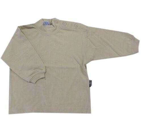 74 Kanz T-Shirt langarm Langarmshirt Beige Gelb 100/% Baumwolle Unisex Gr