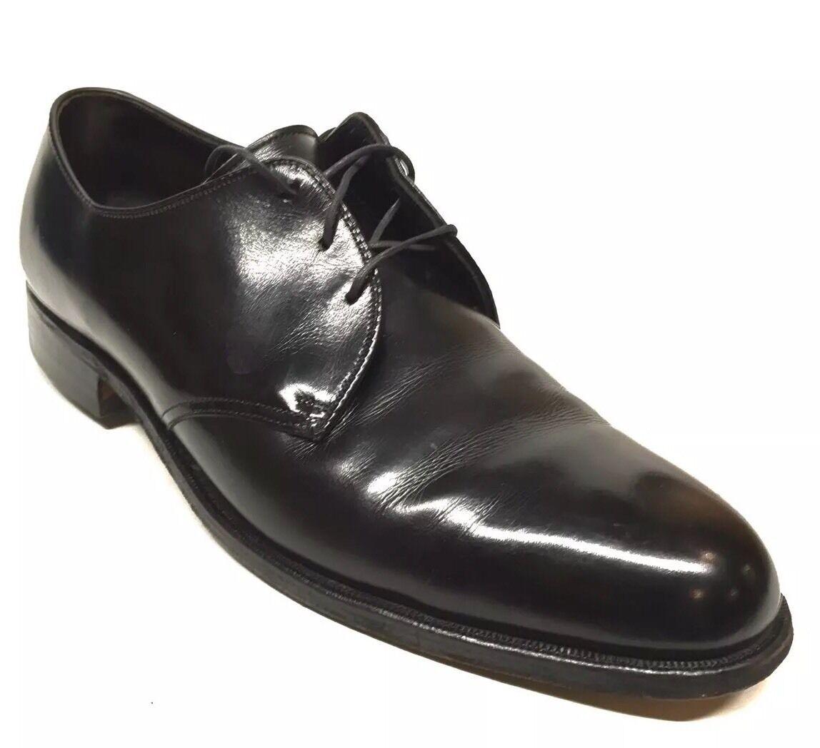 garanzia di qualità Dimensione 8.5 D IMPERIALS For Barrie Ltd. Handlasted Plain Plain Plain Toe nero scarpe  n ° 1 online