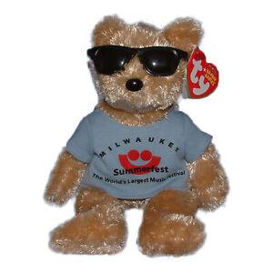 Ty Beanie Baby Summerfest - MWMT (Bear Milwaukee Area Exclusive 2007)