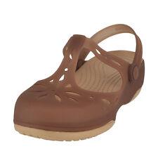 Crocs Carlie Cutout Clog Bronze/Gold Womens Mule Size 7M