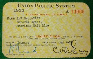 Vintage-Union-Pacific-System-Railroad-Employee-Company-Rail-Pass-1933