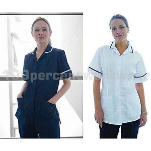 Warrior-Ladies-Nurses-Tunic-Healthcare-Beauty-Medical-Dentist-Vet-Carer-Uniform