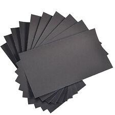"Sandpaper Wet Dry 180 pc 3/"" X 5.5/"" COMBO 180//220//320//400//600//800 grit"