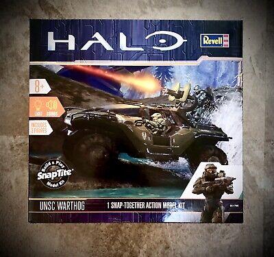 Revell 1766 Halo UNSC Warthog Snap-Tite Model Kit w//Lights /& Sound