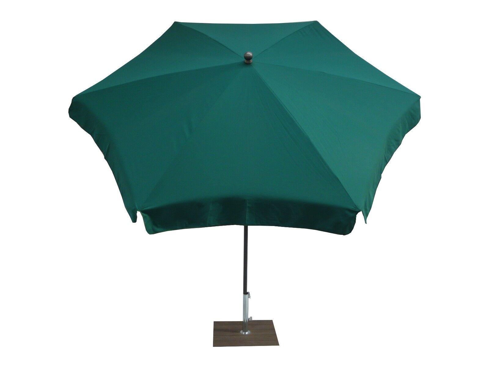 Maffei ombrellone esagonale Mare Art.75 6 verde dralon d.250 cm made in