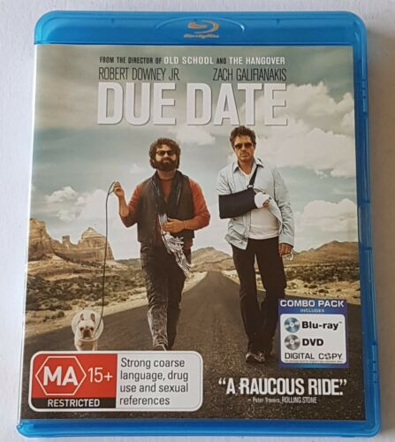 1 of 1 - Due Date Blu-ray, 2011 (#BRD00104)
