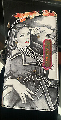 Nicole Lee  PAOLA IS A TOMBOY PRINTED WALLET WITH RFID BLOCKING