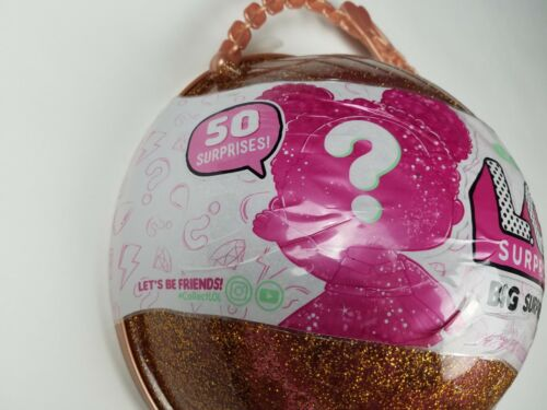 LOL BIG SURPRISE Doll Limited Edition Gold L.O.L Ball 50 Surprises
