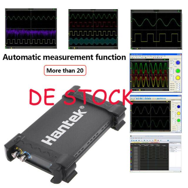 Hantek 1008c 8ch Virtuell Automobil Diagnostisch Daq Signal Oszilloskop