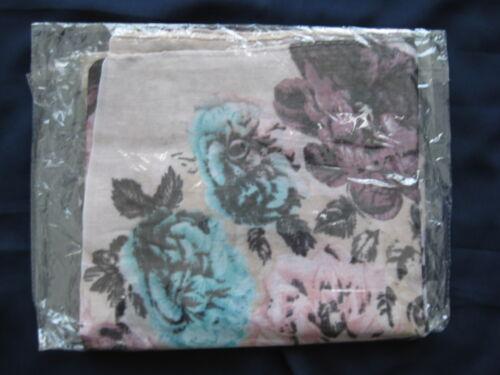 Floral Pattern Chiffon Viscose Hijab Maxi Scarf Flower Tichel Turban 3 Colours