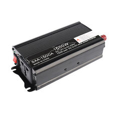 1500W Solar Inverter DC12V to AC220V Modified Sine Wave Converter 3000W Peak