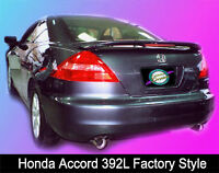 Painted 2003 2004 2005 Honda Accord Spoiler - 2 Door - Factory Style