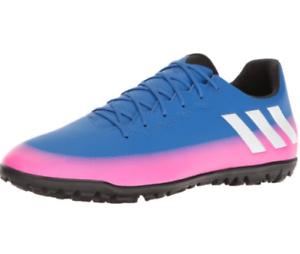 4b169575b Adidas Messi 16.3 TF Turf Soccer Shoes Blue Pink Black White S77051 ...