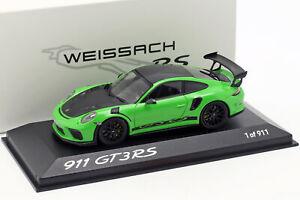 Porsche 911 (991) Gt3 Rs Paquet Le Weissach 2018 Lizardgrün 1:43 Minichamps