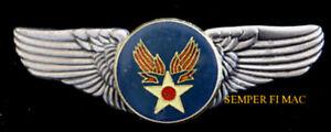 US-ARMY-AIR-CORPS-SEAL-LOGO-LARGE-XL-WIN-PIN-UP-US-AIR-FORCE-PILOT-CREW-GIFT-VET