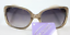 Solar Accents Foster Dusty Gold Grant Sunglasses Flower engrave Sultry New TT