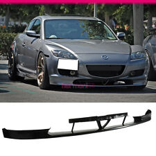 FIT FOR 04 05 06 07 MAZDA RX8 OE STYLE FRONT BUMPER LIP SPOILER BODY KIT JDM PU