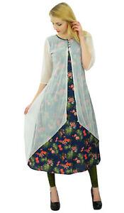 Bimba-Ladies-Floral-Print-Cotton-Kurta-Kurti-Indian-Designer-Kurti-Dress-Tunic