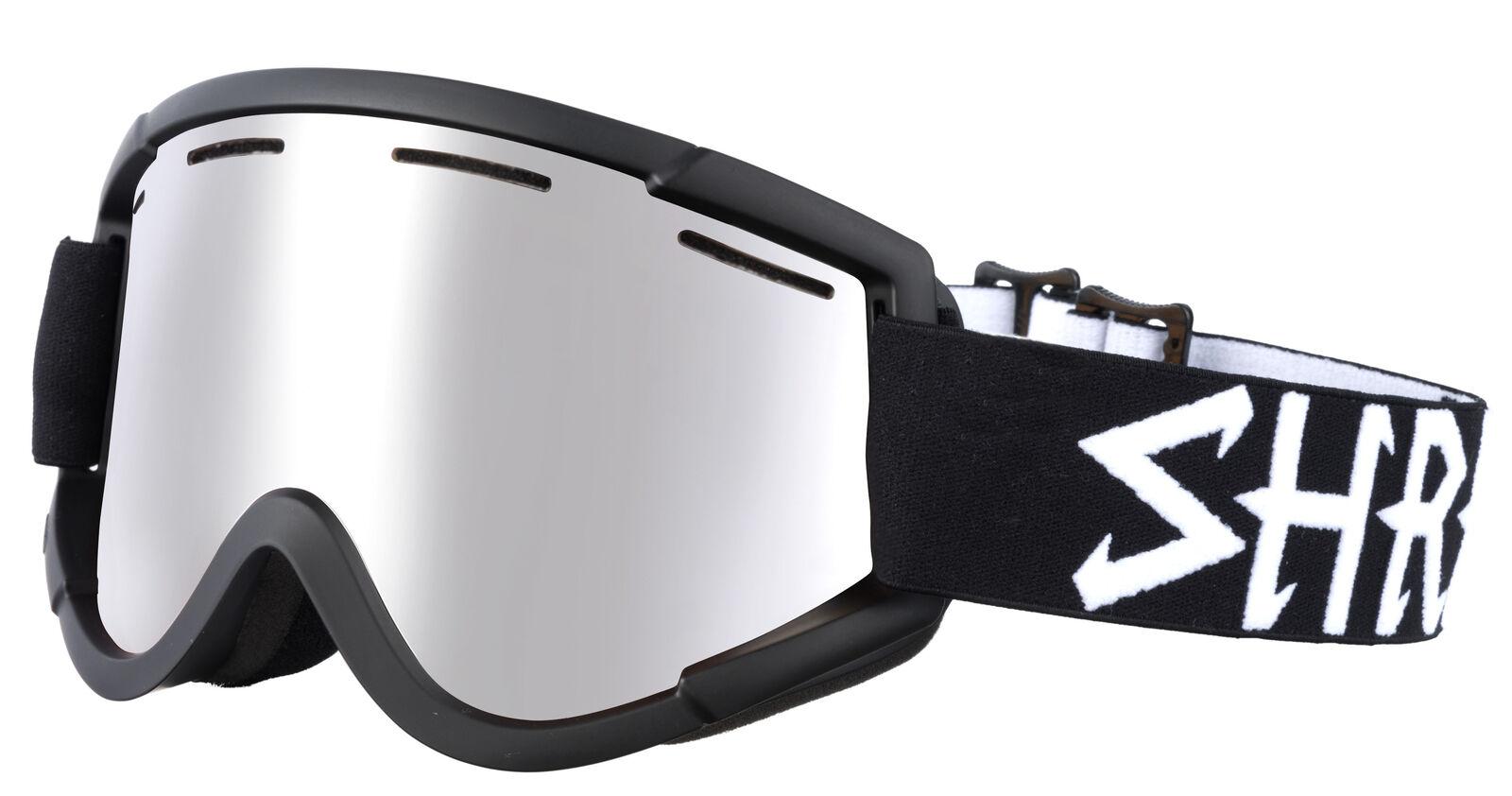 Shred Skibrille Snowboardbrille NASTIFY ECLIPSE PLATINUM black