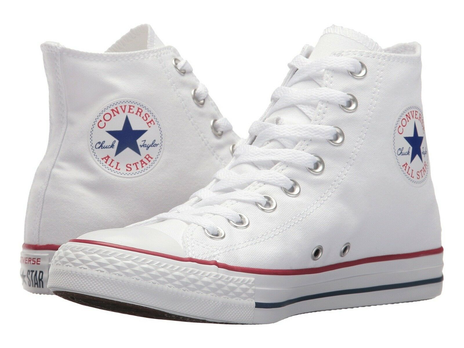 Uomo Chuck Taylor All Star High Top  Optical White New In Box