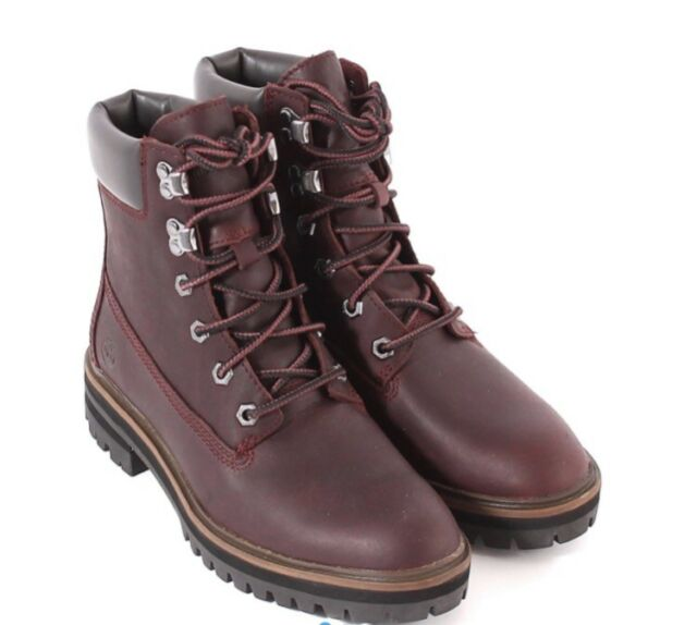 Escándalo Fortaleza enviar  Timberland London Square 6in Boot Ankle BOOTS in Burgundy - UK Size 6. for  sale online | eBay