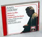 CD RAVEL / DEBUSSY - Herbert von Karajan / Berliner Philharmoniker