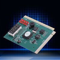 4-Digit Card PC Analyzer Diagnostic Motherboard POST Tester Computer PC PCI ISA