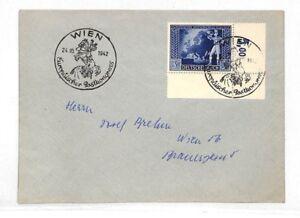 B92 1942 Allemagne Autriche Wien Cover Pts-afficher Le Titre D'origine Pourtant Pas Vulgaire