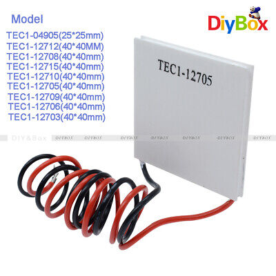 1//2//5//10 TEC1-12706 Heatsink Thermoelectric Cooler Cooling Peltier Plate12V 60W