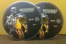 BATTLEFIELD 3 LIMITED EDITION (PC) EXCELLENT CONDITION (DISC ONLY) NO CODE#048
