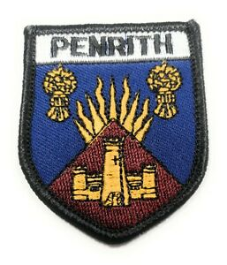 Approx 70mm FREE UK Delivery! GIANT/'S CAUSEWAY Embroidered Sew on Patch