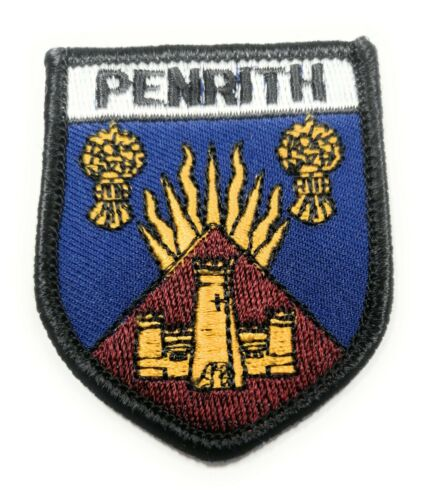 Approx 70mm FREE UK Delivery! PENRITH BADGE Embroidered Sew on Patch