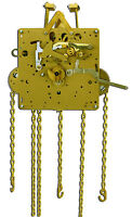 Howard Miller 451-050h 94cm Grandfather Clock Movement