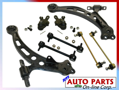 2 Lower Control Arms RH /& LH 2 BALL JOINTS 4 SWAY BARS CAMRY AVALON SOLARA 97-UP