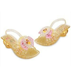 eb66b1f7f27f BELLE~Beads+Glitter~LIGHT UP~Shoes~Costume~5 6~BEAUTY and BEAST~NWT ...