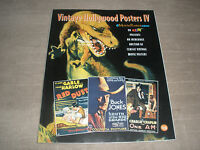 Vintage Hollywood Movie Poster Book Over 300 Full Color Poster Prints Rare Vol 4