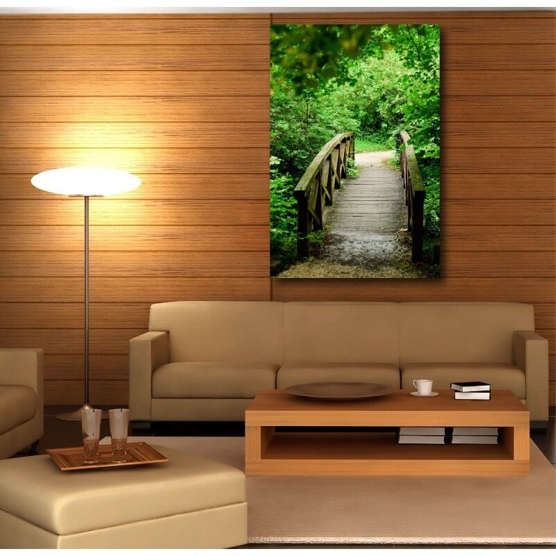 Canvas Fabric Deco Rectangle greenical Gateway 55819498