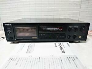 SONY-3head-Stero-Cassette-Tape-Deck-TC-K600-MADE-IN-JAPAN-ELECTRONIC-RETRO-MODEL