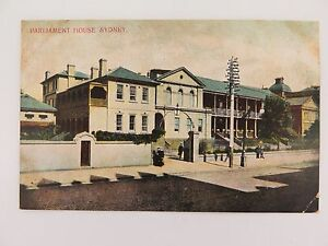 EARLY-1900-S-SYDNEY-PARLIAMENT-HOUSE-POSTCARD