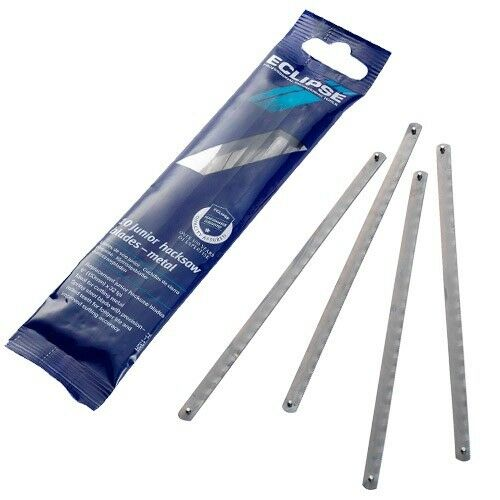 """Spear /& Jackson Eclipse Junior Hacksaw Blades 150mm 6/"""" Pack of 10 32tpi 71-132R"""