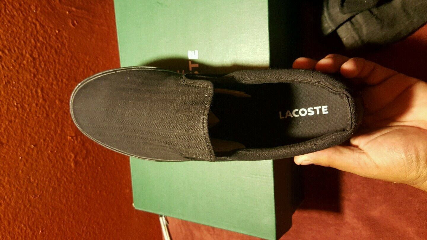 Lacoste lynden shoes slip ons