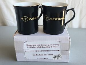 Porcelain Tea New From Bloomingdale's Tassimo Coffee About Mug Ag Lot Details Cup 2 Black SUVGqzpM