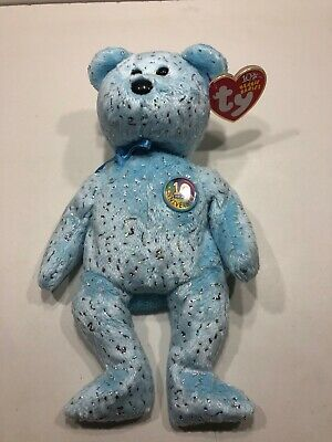 NIPPONIA the Bear - MWMTs 8.5 inch TY Beanie Baby Japanese Exclusive
