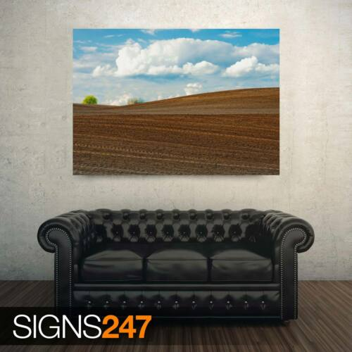 FARM FIELD AD853 NATURE POSTER Photo Picture Poster Print Art A0 A1 A2 A3 A4