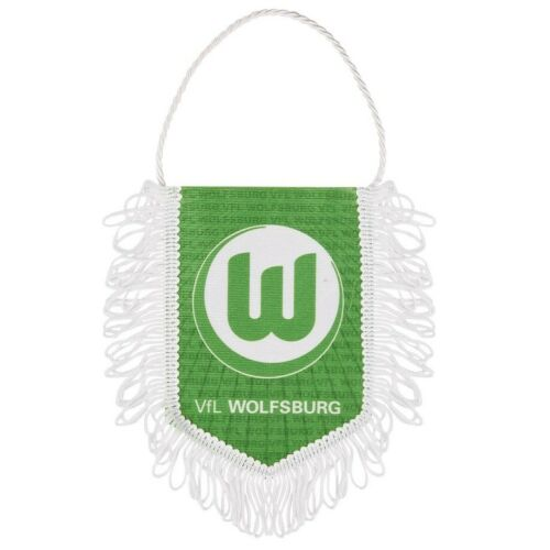 VFL Wolfsburg fanion bannière VERT-BLANC 14 cm
