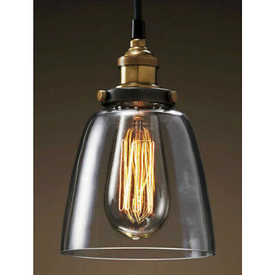 Glass LampShade Ceiling Light Lighting Decor Wall Lamps Pendant Fixtures Vintage