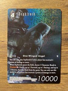 Final Fantasy TCG Opus 11 XI Sephiroth 11-130L FULL ART FOIL Legend Trading Card