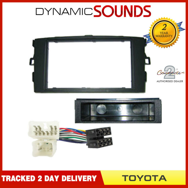 Car Cd Stereo Fitting Kit Fascia Panel Wiring Iso Lead For