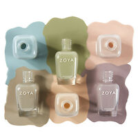 Zoya Whispers 2015 Collection Transitional Shades Nail Polish Lacquer